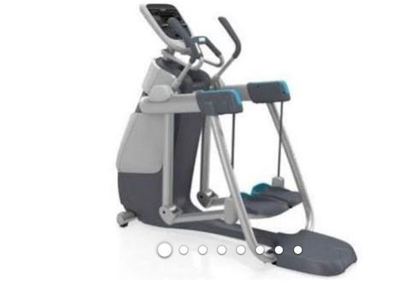 Precor (elliptical, treadmill, stairclimber 3 in one)