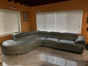 Leather Sectional Couch for Sale in Miami, FL