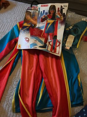 Ms Marvel costume for Halloween 🎃 for 3 - 4 years old. Size 4-5 for Sale in Belle Isle, FL