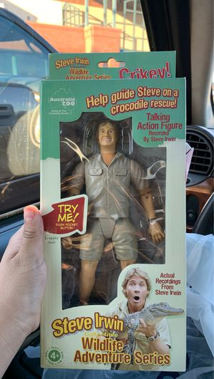 Steve Irwin Collectible Action Figure for Sale in Glendale, AZ