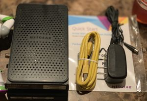 WiFi Cable Modem Router for Sale in San Antonio, TX