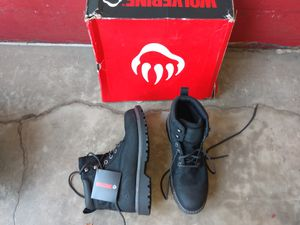 Steel toe men's work boots for Sale in Westminster, CA