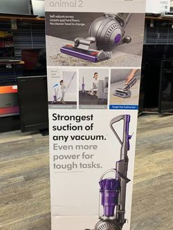 Dyson Ball Animal 2 Bagless Upright Vacuum - Iron/Purple Brand New for Sale in Lynn,  MA