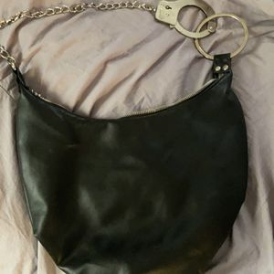 Medium Black Handcuff Hobo Bag for Sale in Surprise, AZ