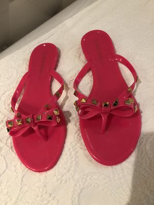 Woman HOT PINK sandals SIZE 7 for Sale in Mission, TX