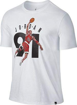 Air Jordan Retro 6 91 White Tee XL $30.00 for Sale in West Valley City, UT
