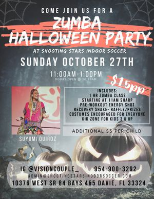 Zumba halloween party for Sale in Fort Lauderdale, FL