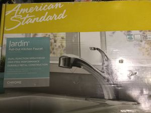 American standard Jardin pull out kitchen faucet chrome for Sale in Spring Hill, FL