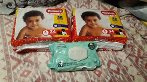 Diaper & wipes for Sale in Pawtucket, RI