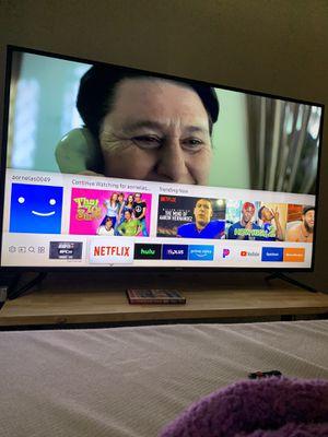 "58"" Samsung 4k smart tv for Sale in Riverside, CA"