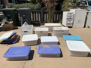 9 Storage containers - various sizes for Sale in Encinitas, CA