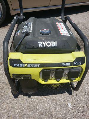Ryobi 3600 watt generator for Sale in Austin, TX