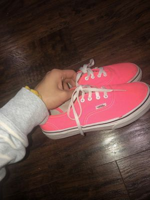 Neon Pink Vans for Sale in Mason, OH