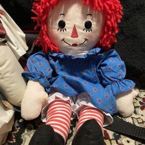 Vintage Raggedy Ann Doll for Sale in Magnolia, TX