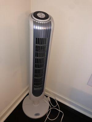 oscillating tower fan for Sale in Weehawken, NJ