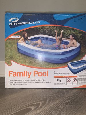 BRAND NEW - FAMILY SWIMMING POOL 103x69x20 for Sale in Tampa, FL