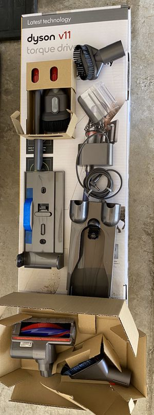 Dyson V11 Tools & wall Charging Dock w/ Charger (No Vacuum) for Sale in Shady Shores, TX
