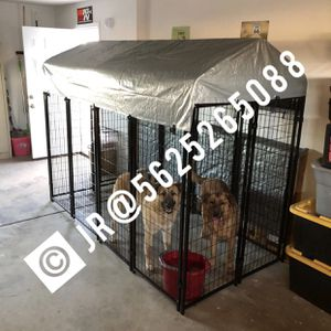Large welded wire steel dog kennel cage jaula new for Sale in Loma Linda, CA