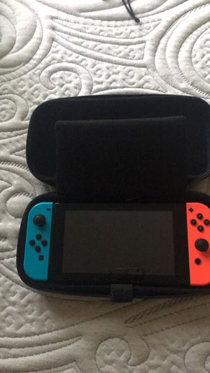 Nintendo switch + games for Sale in Sacramento, CA