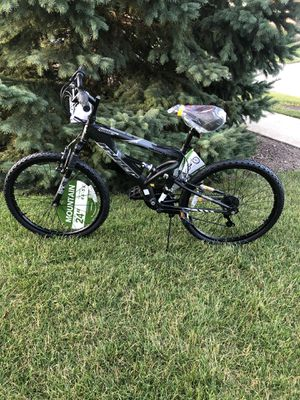 Brand New 24 Inch Mountain Bike with shamino gears for Sale in Homer Glen, IL