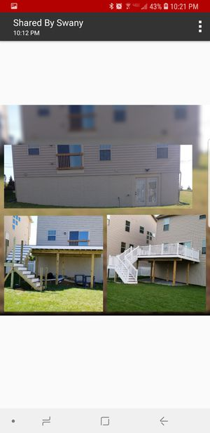 Carpenter,paint or handyman for Sale in Frederick, MD
