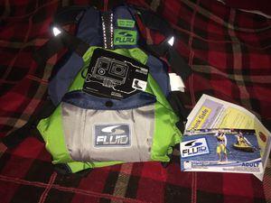 Fluid Aquatics S / M Kayaking / Paddling Life Jacket - PFD for Sale in Mesa, AZ