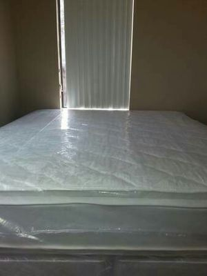 New Eastern king pillow top mattress and box spring for Sale in Lodi, CA