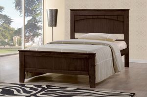 Brand New Wooden Platform Bed Frame - TWIN SIZE for Sale in Diamond Bar, CA