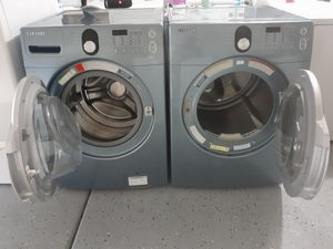 Samsung washer& gas dryer for Sale in Las Vegas, NV