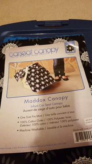 Carseat canopy for Sale in Charlotte, NC