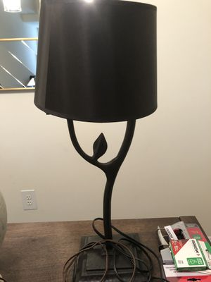 Lamp with Black Shade for Sale in Jersey City, NJ