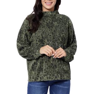 Turtleneck Sweaters Pullover Women Casual Tunic Comfy Long Sleeve Jacquard Knit Tops L/XL for Sale in St. Louis, MO