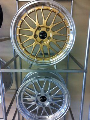 "18"" jnc005 wheels 5 lug for Sale in Pasadena, TX"