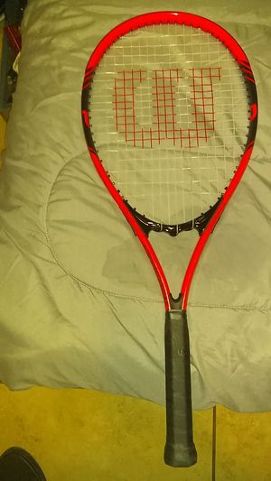 Wilson stop shock tennis racket for Sale in Bakersfield, CA