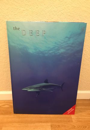"Giant underwater photography and informational book ""The Deep"" for Sale in Puyallup, WA"