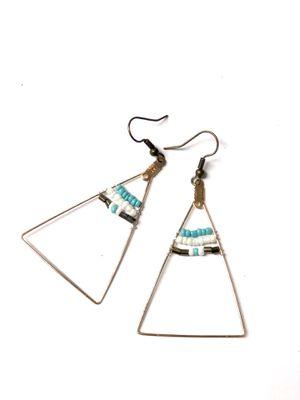 Handcrafted🌿 Modern Turquoise Beach Inspired Earrings 🌿 New! #Beachready #SoCalife for Sale in Santa Fe Springs, CA