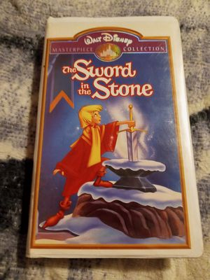 The Sword in the Stone VHS for Sale in Wayne, MI