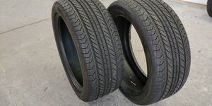 2 tires 245/40/19 Continental ProContact GX SSR All SEASON RunFlat for Sale in Queens, NY