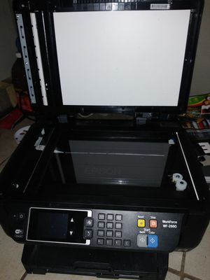 Epson work force 2660 wireless print copy scan fax ethernet for Sale in San Antonio, TX