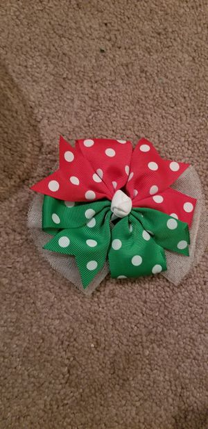Holiday hairbow for Sale in Feasterville-Trevose, PA