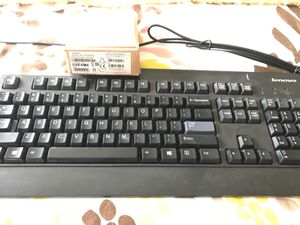 Lenovo keyboard & wired optical mouse (New) for Sale in Woodstock, GA