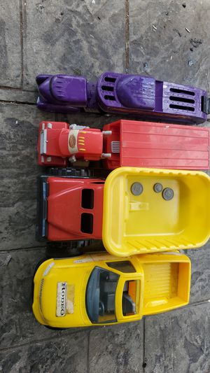 Toy trucks good condition for kids $5 and up per Each. for Sale in Princeton, NJ