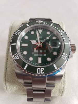 Automatic watch for Men's green face with original box for Sale in San Antonio, TX