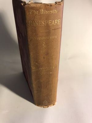The Riverside Shakespeare - Histories and Poems - 1883 Hardcover for Sale in San Francisco, CA