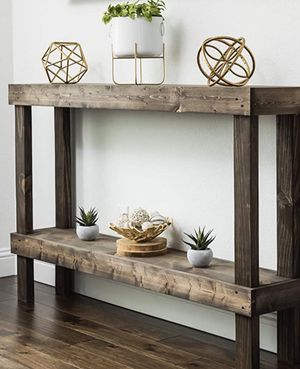 New!! Table, console table, sofa table, console sofa table, side table, living room furniture, entrance furniture , dark walnut for Sale in Phoenix, AZ