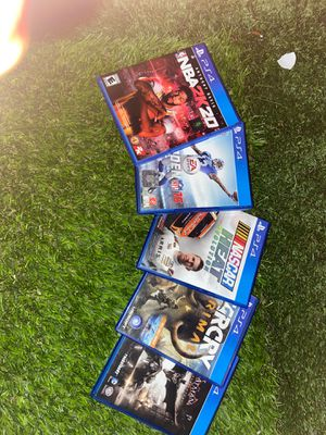 Ps4 games for Sale in Wauchula, FL