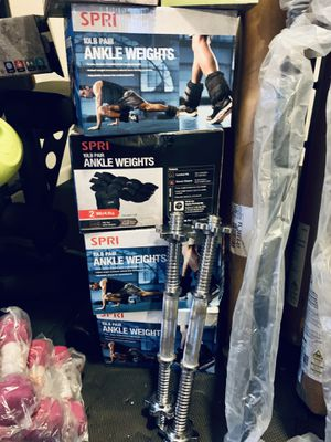 20 lb ankle weights for Sale in Davie, FL
