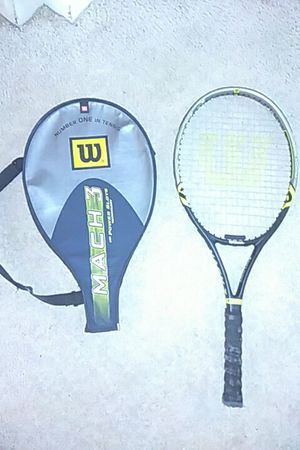 Wilson tennis racket with case for Sale in Dearborn Heights, MI