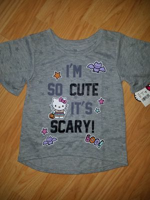Girl's Hello Kitty Halloween T Shirt Size 5 T for Sale in Goodyear, AZ