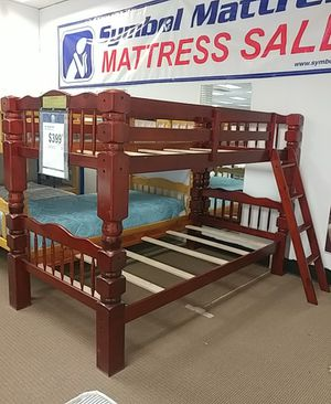 Cherry Bunk Bed set for Sale in Niagara Falls, NY